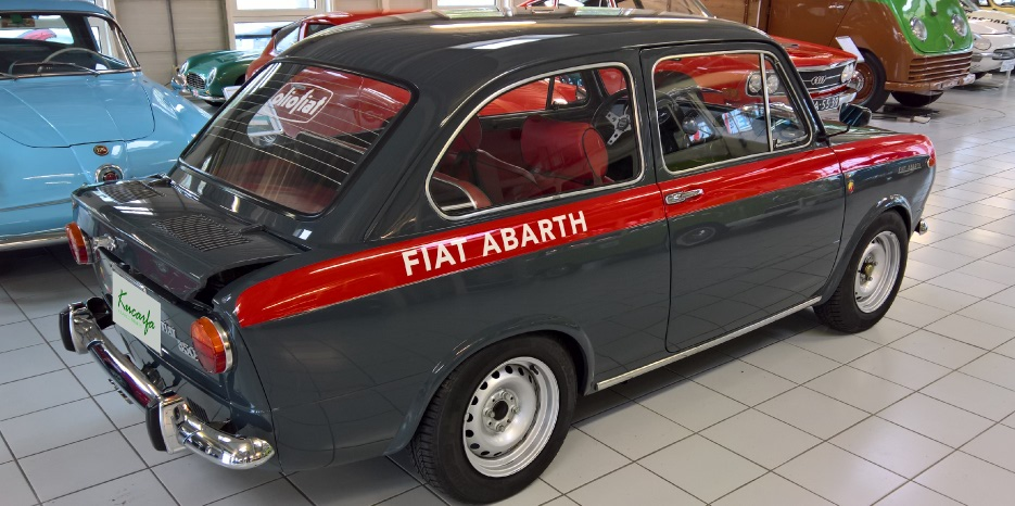 fiat abarth 850 ot for sale. Black Bedroom Furniture Sets. Home Design Ideas