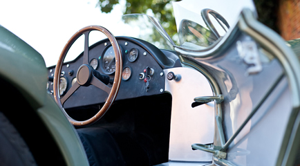 Aston Martin DBR1 dashboard